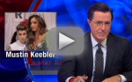 Stephen Colbert Talks Justin Bieber-Orlando Bloom Fight