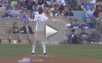 Chrissy Teigen First Pitch