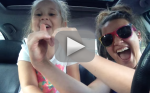 Mother and Toddler Lip-Sync to Frozen