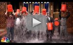 Jimmy Fallon Accepts Ice Bucket Challenge