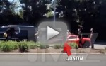 Justin Bieber Gets Into Car Accident with Paparazzi