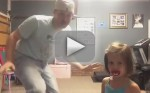 "Dad and Daughter Dance to ""All About the Bass"""
