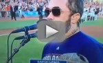 Aaron Lewis National Anthem Performance