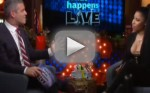 Nicki Minaj Nip Slip on Watch What Happens Live