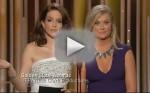Tina Fey, Amy Poehler Golden Globes Cosby Joke