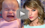 Taylor Swift Song Comforts Crying Child