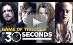 Game of Thrones in 30 Seconds