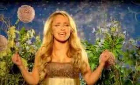 Hayden Panettiere Sings!