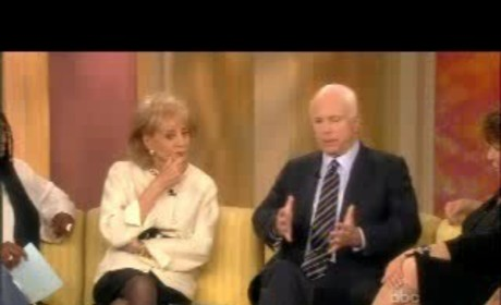 John McCain on The View, Part II