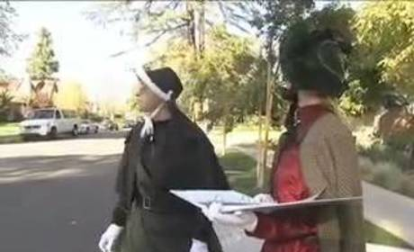 Britney Spears and Ellen Go Caroling