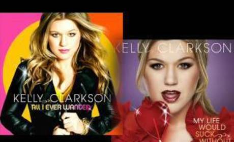 Kelly Clarkson Album Cover, Single Preview