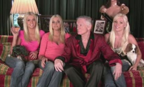Hugh Hefner and His Ladies