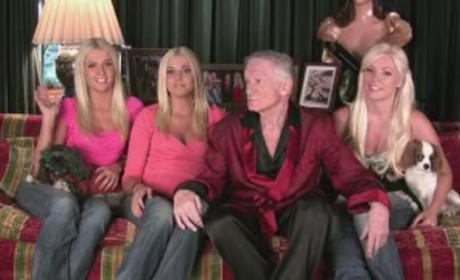 Hugh Hefner and His Ladies