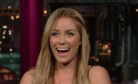 Lauren Conrad on Letterman