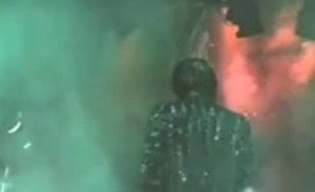 Michael Jackson Pepsi Commercial Accident