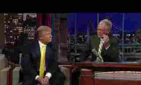 Donald Trump on David Letterman