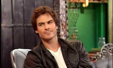 Ian Somerhalder Interview: Excited for The Vampire Diaries, Compared to Chace Crawford