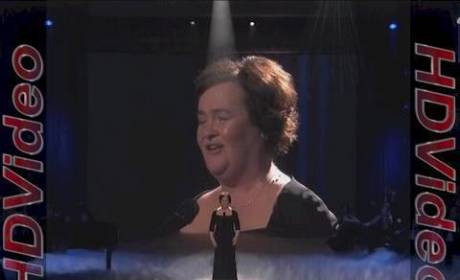 Susan Boyle Performs on America's Got Talent