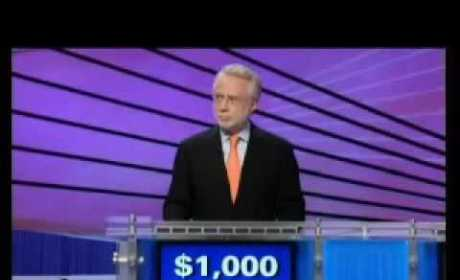 Wolf Blitzer on Celebrity Jeopardy