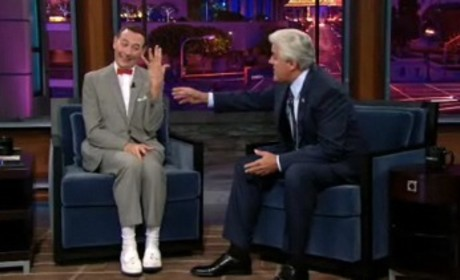 Pee Wee Herman on Leno: Abstinence Rings & More