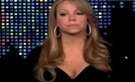 Mariah on Larry King