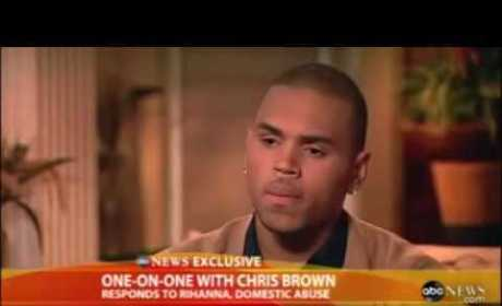 Chris Brown on Good Morning America: I Was Wrong