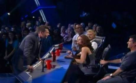 Ryan and Simon Butt Heads on American Idol