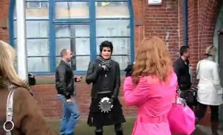 Presenting Adam Lambert... in a Kilt!