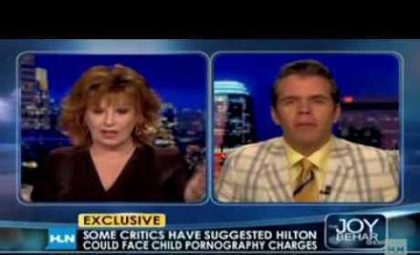 """Perez Hilton to Joy Behar: I'm an Idiot, Miley Cyrus is an """"Oversexualized Creature"""""""