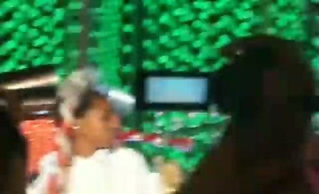 Willow Smith Whips Hair at Tree Lighting Ceremony
