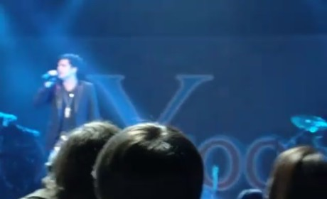 Adam Lambert at Y100 Jingle Ball: Performance Videos