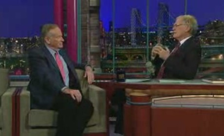 Bill O'Reilly on Letterman