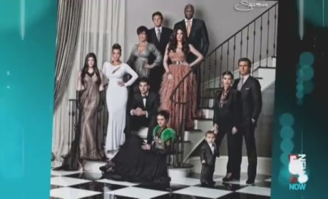 Kardashian Christmas Card: Behind the Scenes