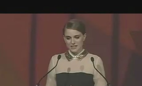 Natalie Portman Thanks Fiance