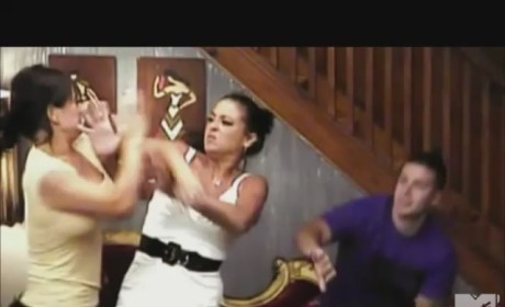 Jersey Shore Fight in Slow Motion
