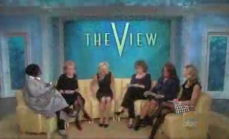 Camille Grammer on The View
