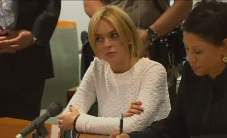 Judge Crushes Lindsay Lohan in Court