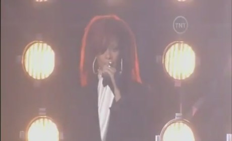 Rihanna Live at NBA All-Star Game