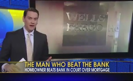 Man Dresses Like Vampire, Crushes Wells Fargo