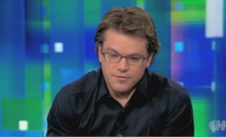 Matt Damon on Piers Morgan Tonight