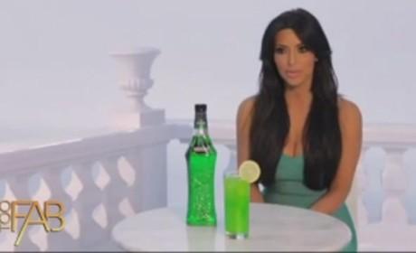 Kim Kardashian Midori Ad