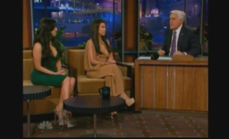 Kourtney Kardashian on The Tonight Show