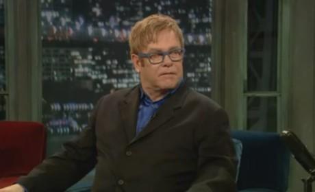 Elton John Defends Glee