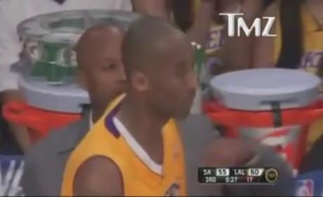 Kobe Bryant Curses at Ref