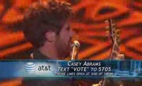 Casey Abrams - Harder to Breathe (American Idol)