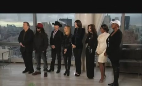 Donald Trump Talks White House Run on Celebrity Apprentice