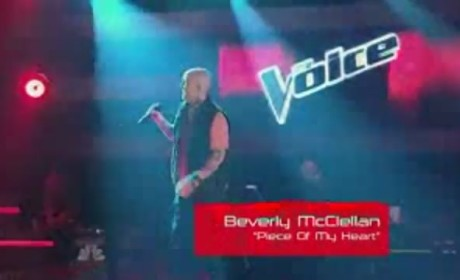 Beverly McClellan - Piece Of My Heart (On The Voice)
