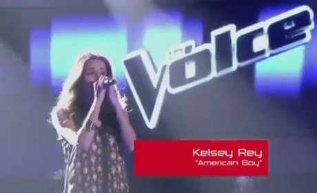 Kelsey Rey - American Boy (The Voice)