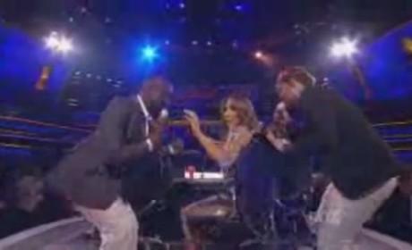 James Durbin and Jacob Lusk - I'm Into Something Good (American Idol)