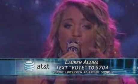 Is Lauren Alaina in Trouble?